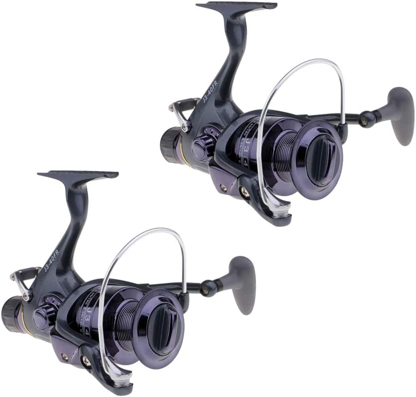 2Piece Spinning Reel Carp Fishing Front and Rear Drag Reel 40FR