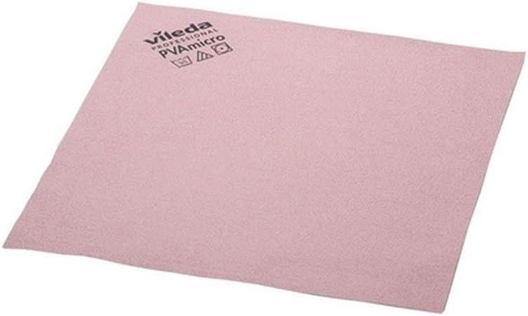Vileda 143586 - Pack de 5 paños de microfibra, color rojo: Amazon ...