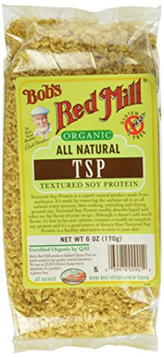 Organic TSP (Textured Vegetable Protein), 6 oz (Pack of 4)