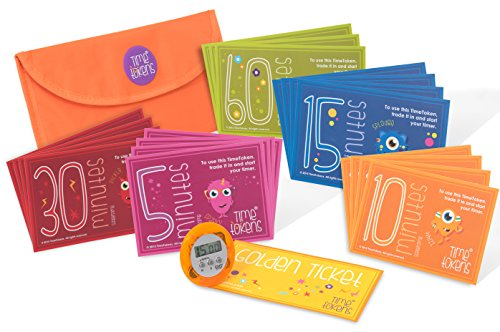 TimeTokens. The Fun and Simple Pack to Limit your Child's Screen Time -