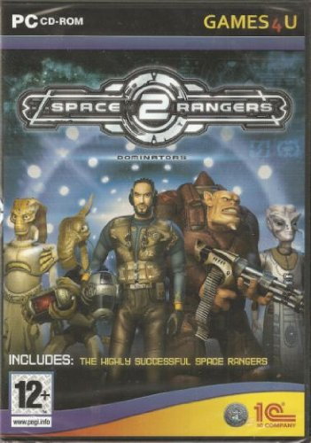 Space Rangers 2 Dominators (Windows CD) Also Includes the game Space Rangers 1 & a Printed Manual