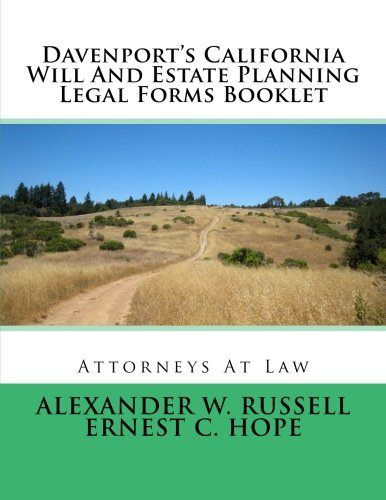alexander w russell author profile news books and With california estate planning documents