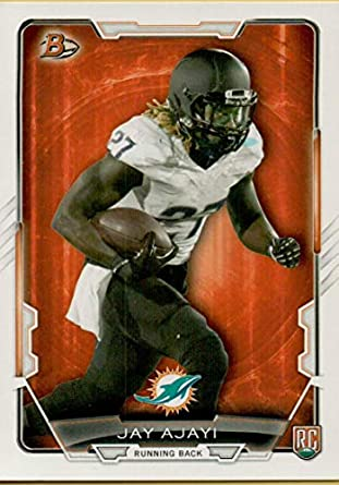 2f2218c0 Amazon.com: 2015 Bowman Rookies #59 Jay Ajayi RC Rookie Dolphins ...