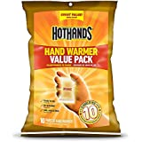 HotHands Hand Warmers Long Lasting Safe Natural Odorless Air Activated Warmers - Up to 10 Hours of Heat - (30 Pair Value Pack)