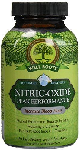 Roots Nitric Oxide Performance Soft Gels Bottle