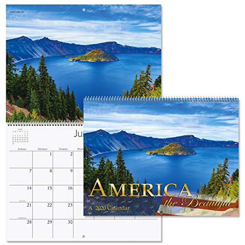 2020 America The Beautiful Wall Calendar- 12