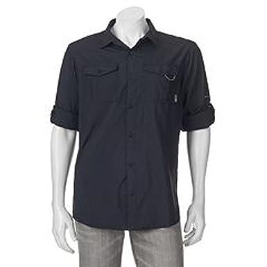 Men's Columbia Glen Meadows Omni-Shade Shirt - UPF 30 Long Sleeve - L -