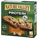 Nature Valley Protein Peanut Butter Dark Chocolate, 4-Count, 148 Gram