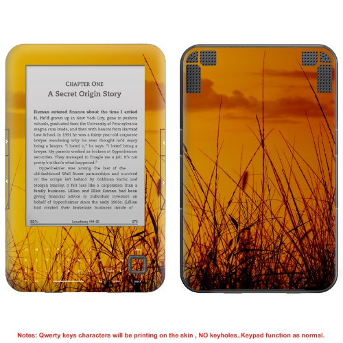 Decalrus - Decal Skin Sticker for Amazon Kindle 3 3G (no keys & for 3rd Generation model) case cover wrap AZkindle3NOKEY-567 (Stickers 567)
