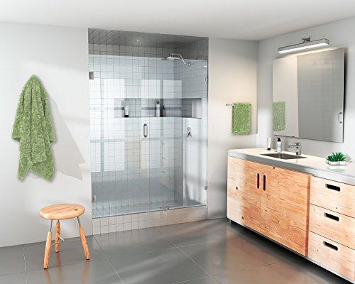 frameless shower door 60 - 9