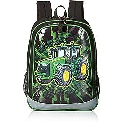 John Deere Boys' Backpack, Black