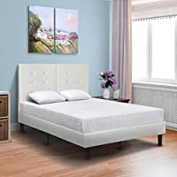 PrimaSleep 8 Inch Premium Cool Gel Multi Layered Memory Foam Bed Mattress (Queen)