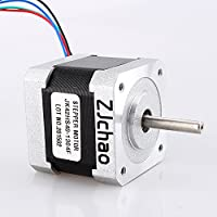 ZJchao 57oz-in 1Nm Nema 17 Stepper Motor 1.3A 40mm for CNC Router or Mill