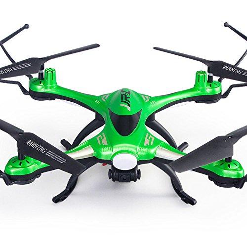 JJRC H31 - Drone impermeable con cámara sin cabezal (2,4 G, 4 canales, 6 ejes, RC Quadcopter, RTF), color verde