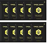 Charcoal Mask Sheet Eightwonders CHOC CHOC Propolis Black Honey Black Mask with Ultimate Natural Green Propolis Extract 20,000ppm,Bamboo. Firms, Plumps and lifts skin, Pack of 10, 0.88 fl oz each Review