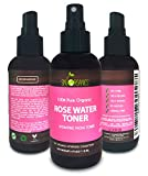 #6: Organic Rose Water Toner by Sky Organics 4oz-100% Pure, Organic Distilled Rosewater Toner For Face And Hair- Best Gentle Facial Cleanser -Preps Dry & Acne Prone Skin for Serums, Moisturizers & Makeup