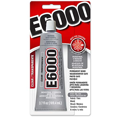 Purpose Wood Adhesive Waterproof - E6000 230010 Craft Adhesive, 3.7 Fluid Ounces