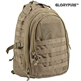 Cheap GLORYFIRE Tactical Backpack Ambidextrous Sling Pack Daypack Military Shoulder Bag for Outdoor Hiking Camping Trekking Hunting (Tan)