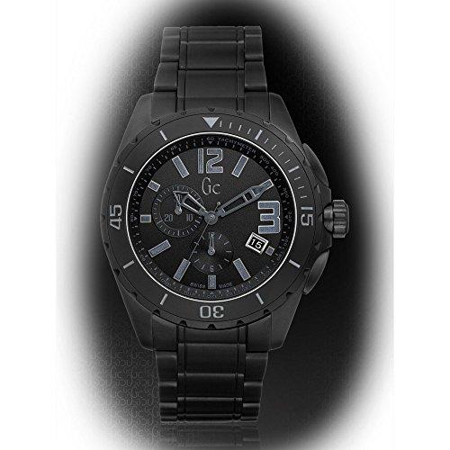 Guess Sport Bracelet - Guess GC Sport Class XXL Blackout Ceramic Mens Watch X76010G2S