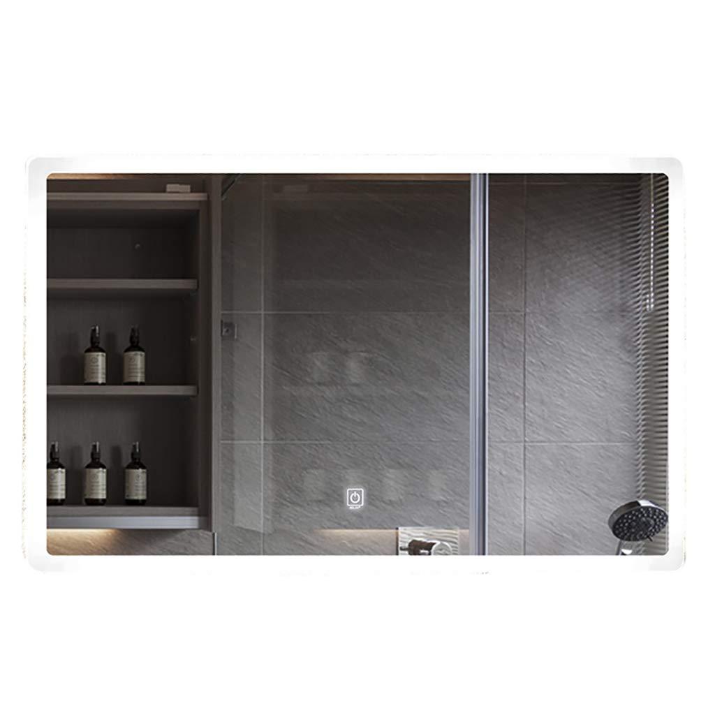 ウォールマウントされたLEDミラーのバスルームは 600*800mm、防曇とタッチボタンで正方形の鏡を作る時間温度表示インテリジェントなホテルのバスルームミラー B07L73K1ZJ 600 light*800mm|White light B07L73K1ZJ White light 600*800mm, 川越市:05d37375 --- fancycertifieds.xyz
