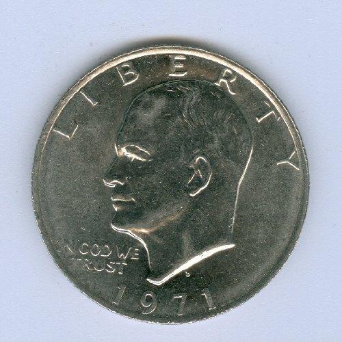 - 1971-D Eisenhower Dollar