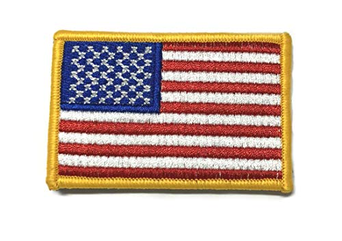 Series Emblem World Patch (Tactical Morale Patch USA Flag American Embroidered Hook and Loop Fastener Backing America Military US World Flag Series Uniform Emblem Badge DIY Appliques Application Patches)