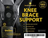 NeoProMedical-Knee-Support-Neoprene-Breathable-Knee-Brace-Adjustable-Size-Black-Color