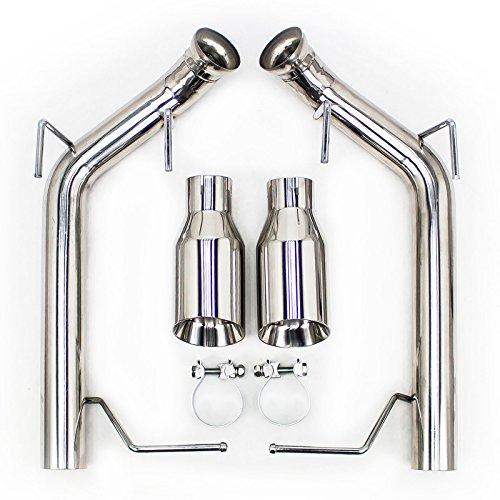Rev9(CB-1023A) FlowMaxx Exhaust Kit for Ford Mustang V8 2011-14, 2.5