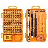 Screwdriver Set Repair Tool Kit - 108 in 1 Small Multi Screw Driver Bits Set Magnetic Mini Precision Screwdriver for Iphone,Watch,Electric,Eyeglass,Laptop,Computer Repairing