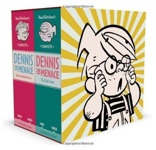 Download Hank Ketcham's Complete Dennis the Menace 1959-1962 (Box Set) [Hardcover] pdf epub