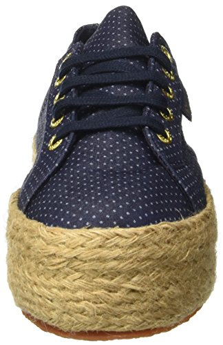 Blue Basses Bleu Adulte 2790 Superga Indigo ~Fabricshirtropew Dots Mixte Sneakers tnqx0Ovw