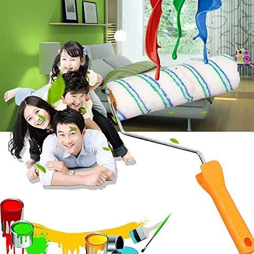 1pc Pennello multifunzionale a rullo per uso domestico Spazzole per pareti Rotolo Strumento per pittura decorativa