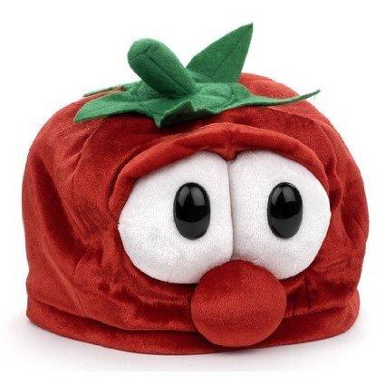 Accessories Scout Boy Costume (Veggie Tales Bob the Tomato Plush Beanie)
