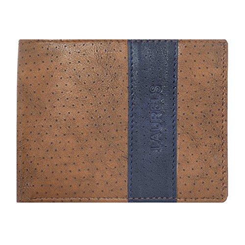Laurels Cobalt Brown & Blue Men's Wallet (Lw-Clt-0903)