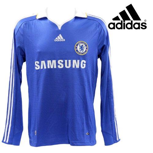Adidas - maillot chelsea - e08158 - bleu baskets mode maillot / short / foot