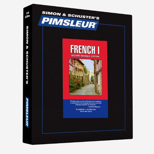 Pimsleur French Level 1 CD: Learn to Speak and Understand French with...
