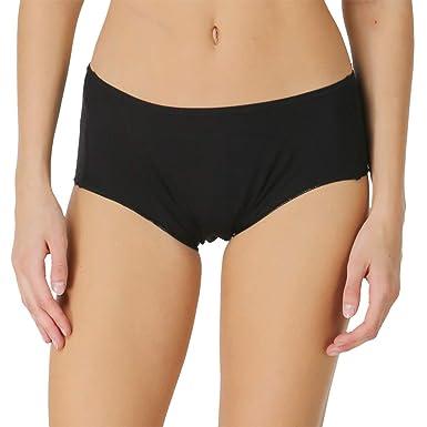 332820863af5 Adira Black Period Panty Boxer/Period Panty/Menstrual Panties/Waterproof  Panties/Sanitary Panties/Wash & Reuse Anti-Leaking Panty/USA Patented:  Amazon.in: ...
