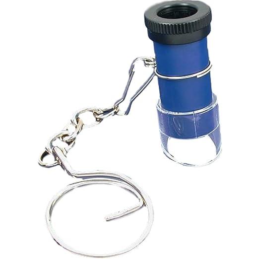 Amazon.com: 5 x bolsillo llavero Microscopio Lupa de joyería ...
