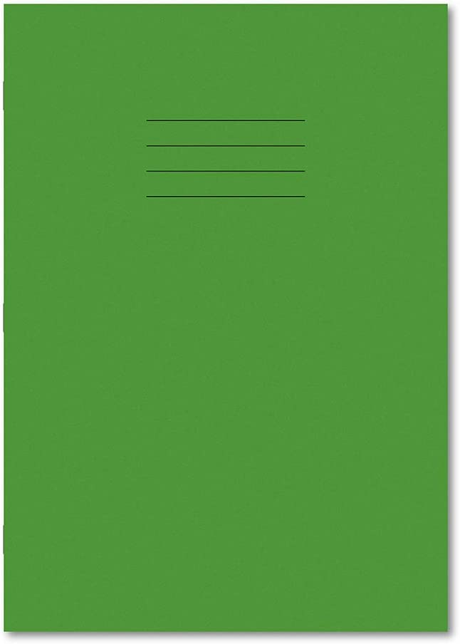 Hamelin A4 Plain Online limited product 64 Pages Max 71% OFF Exercise Book of Pack Green Light 5 -