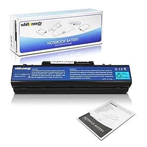 Whitenergy 6600mAh Acer Aspire 4310 Ión de litio 6600mAh 11.1V batería recargable - Batería/Pila recargable (6600 mAh, Ión de litio, 11,1 V, Negro, Alto)