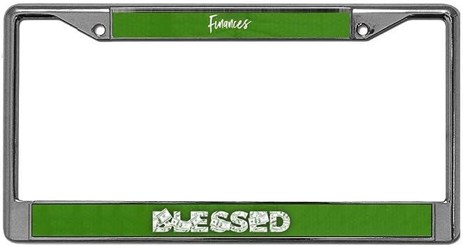 Blessed license plate frame holder