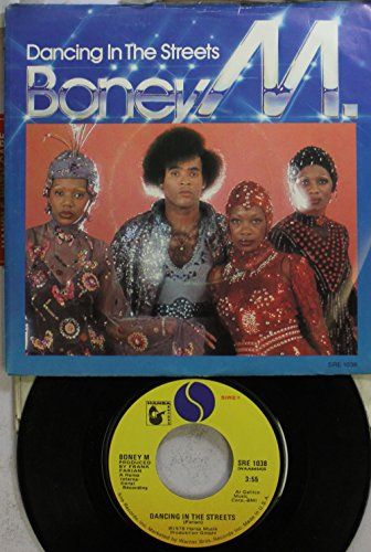 Boney M 45 RPM Dancing In The Streets / Never Change Lovers In The Middle Of The Night