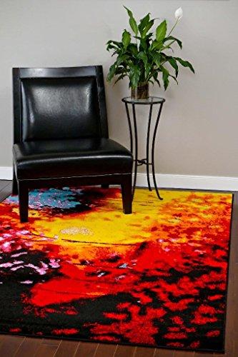 9143 Multi 5'2x7'2 Area Rug Carpet Large New
