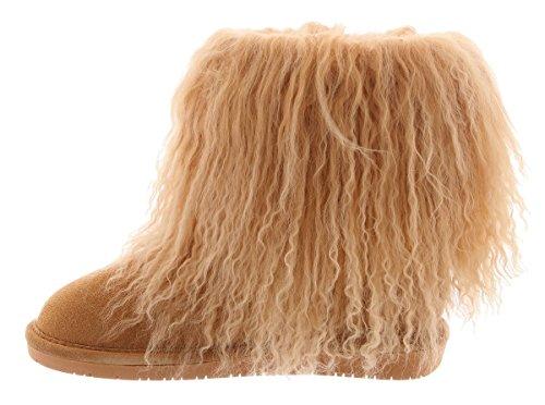 721 Marron Femme wheat Boo Bearpaw Souples Bottes xR6RIY