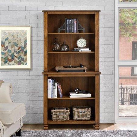 Altra San Antonio Wood Veneer Bookcase (Tuscany (Lawyers Bookcase Hardware)