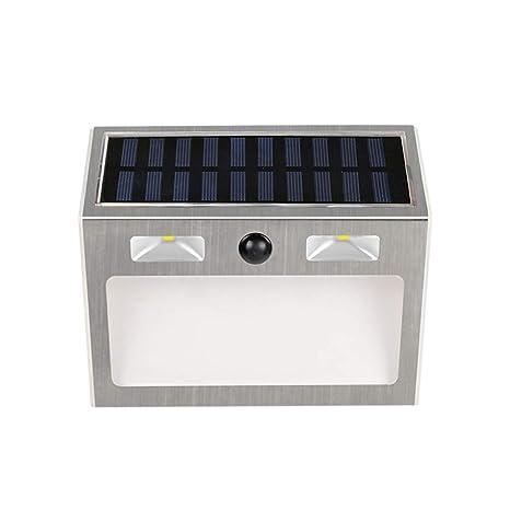 Solar Lighted Address Sign House Number Stainless Solar
