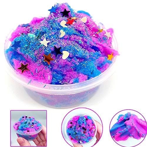 Hisoul Cotton Mud Clay Toy Multicolor Stars Mixing