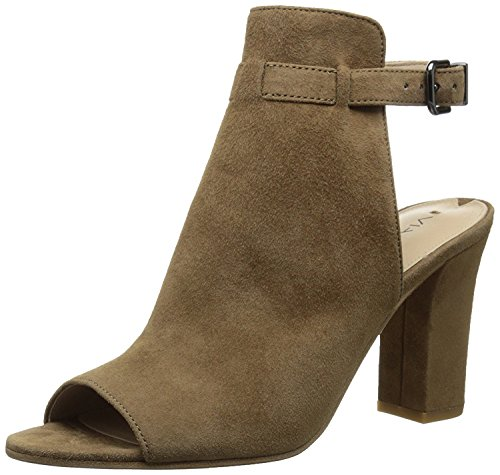 - Via Spiga Womens Fabrizie Suede Open Toe Casual Mule Sandals, Ratten, Size 10.5