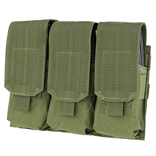 Condor Triple M4 Mag Pouch (OliveDrab)