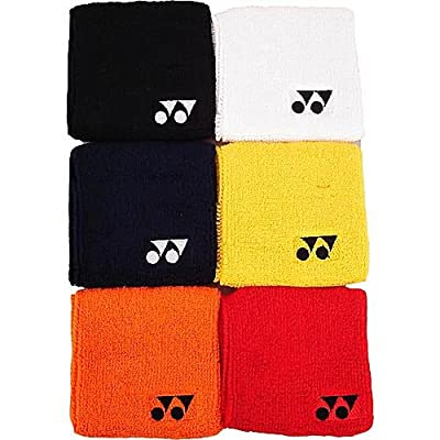 Yonex Single Wide Wristbands 2 Pack Color: Navy
